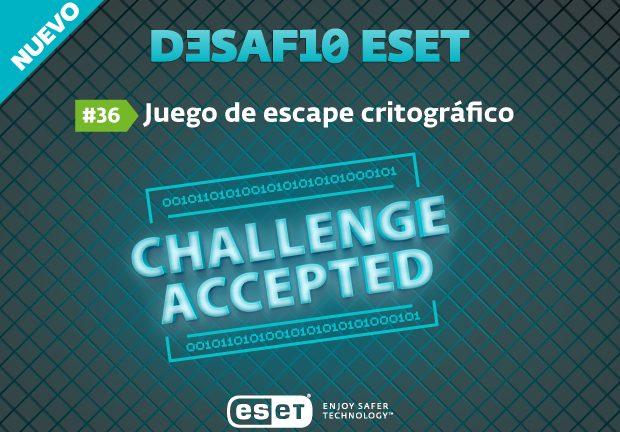 write up – CTF eset latinoámerica challenge #36  – @omespino