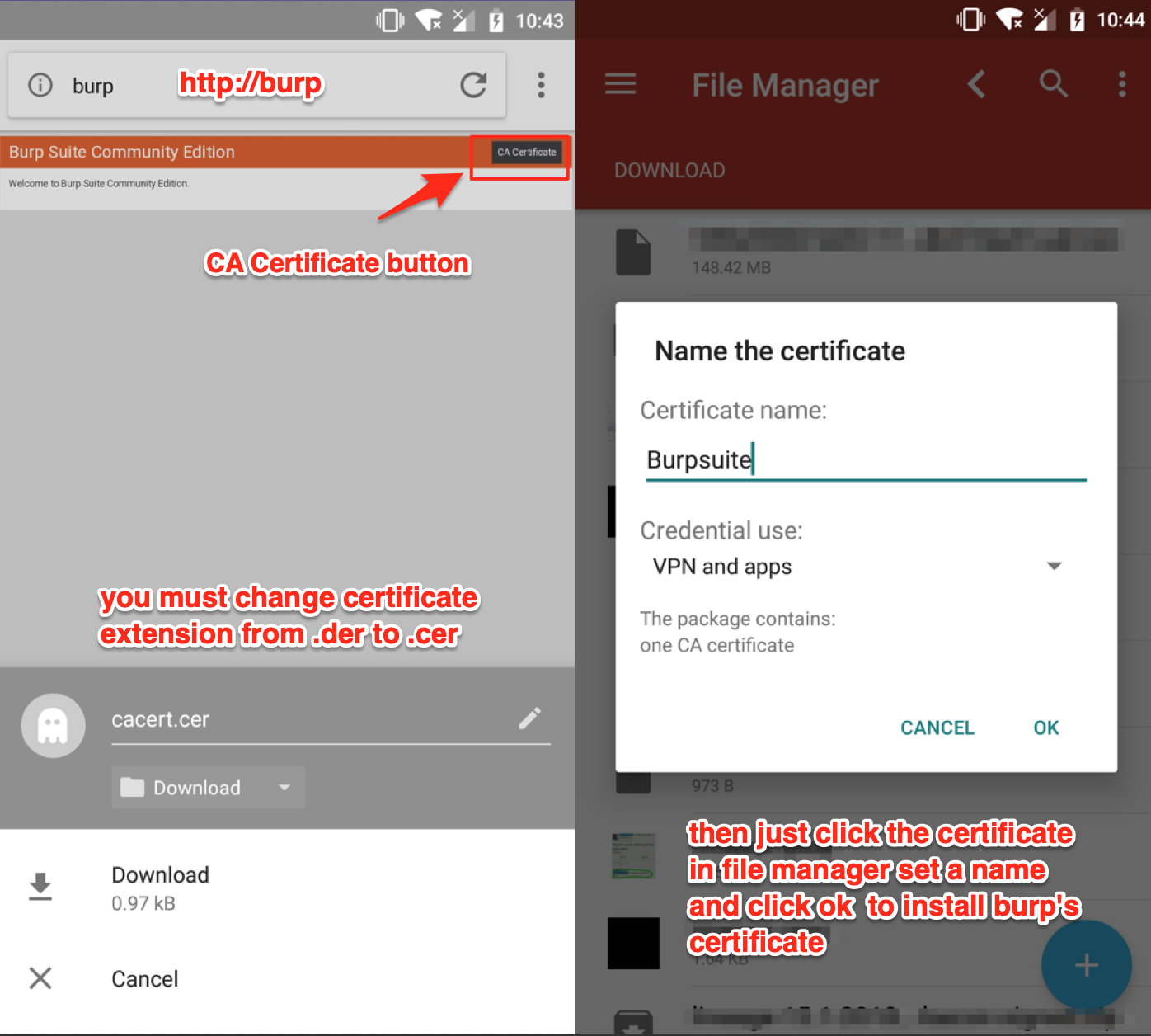 TUTORIAL – UNIVERSAL ANDROID SSL PINNING IN 10 MINUTES WITH FRIDA